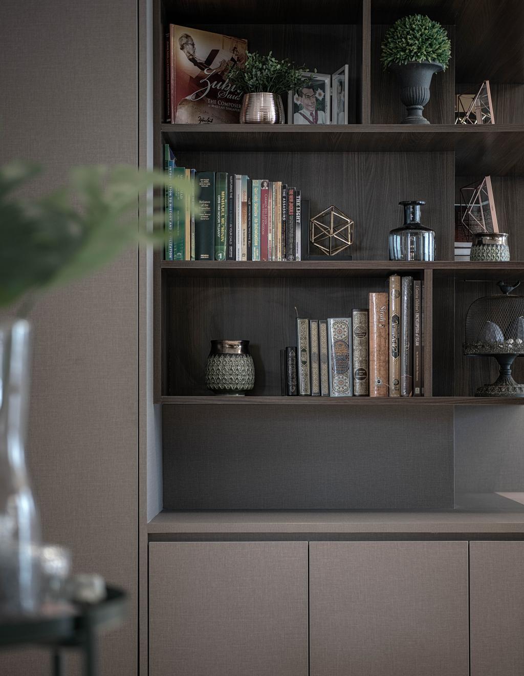 Modern, HDB, Living Room, Waterway View, Interior Designer, Stylemyspace
