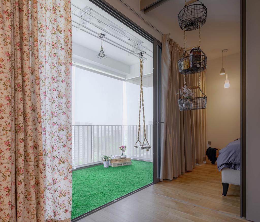 Eclectic, Condo, Balcony, Riversails, Interior Designer, Weiken.com