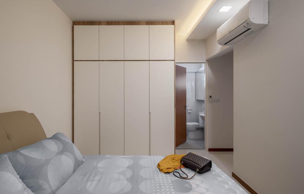 Contemporary, HDB, Bedroom, Ang Mo Kio Street 51, Interior Designer, Weiken.com