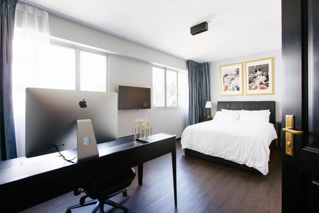 Contemporary, HDB, Bedroom, Telok Blangah Street 31, Interior Designer, The Scientist