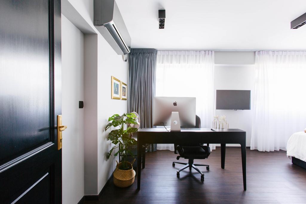 Contemporary, HDB, Study, Telok Blangah Street 31, Interior Designer, The Scientist