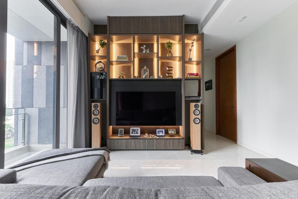 Contemporary, Condo, Living Room, One Balmoral, Interior Designer, erstudio