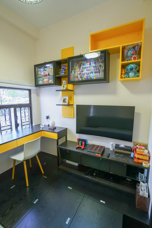 摩登, 私家樓, 書房, 南豐新村, 室內設計師, Shine Interior Design