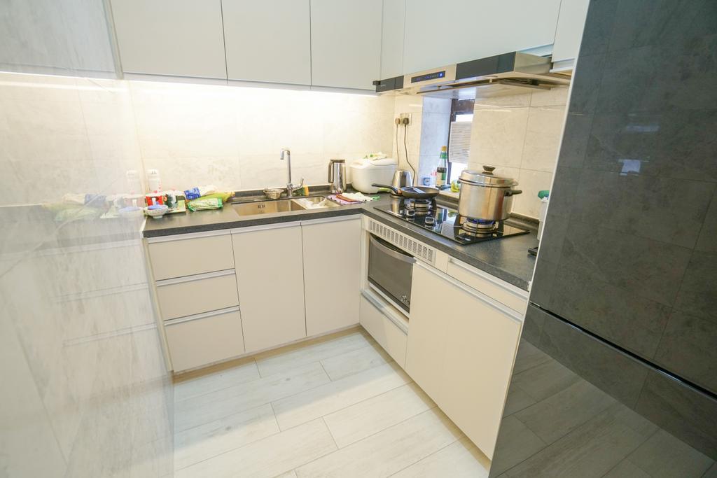 摩登, 私家樓, 廚房, 南豐新村, 室內設計師, Shine Interior Design