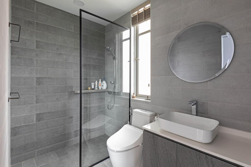 Contemporary, Condo, Bathroom, Cavendish Park, Interior Designer, Chapter One Interior Design