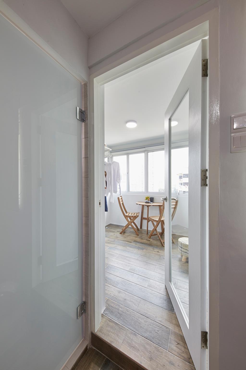 Contemporary, HDB, Dining Room, Whampoa Drive, Interior Designer, i-Chapter
