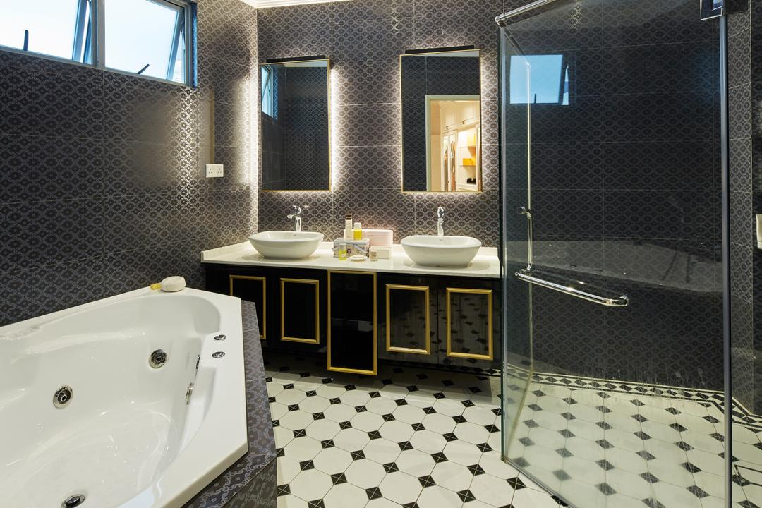 Jalan Limbok, i-Chapter, Contemporary, Modern, Bathroom, Landed, Jacuzzi, Bath Tub, Bathtub, Water Spa, Spa