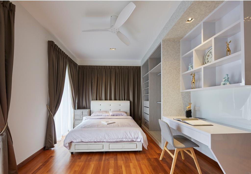 Contemporary, Landed, Bedroom, Jalan Limbok, Interior Designer, i-Chapter, Modern