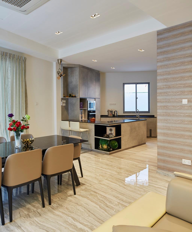 Contemporary, Landed, Dining Room, Jalan Limbok, Interior Designer, i-Chapter, Modern