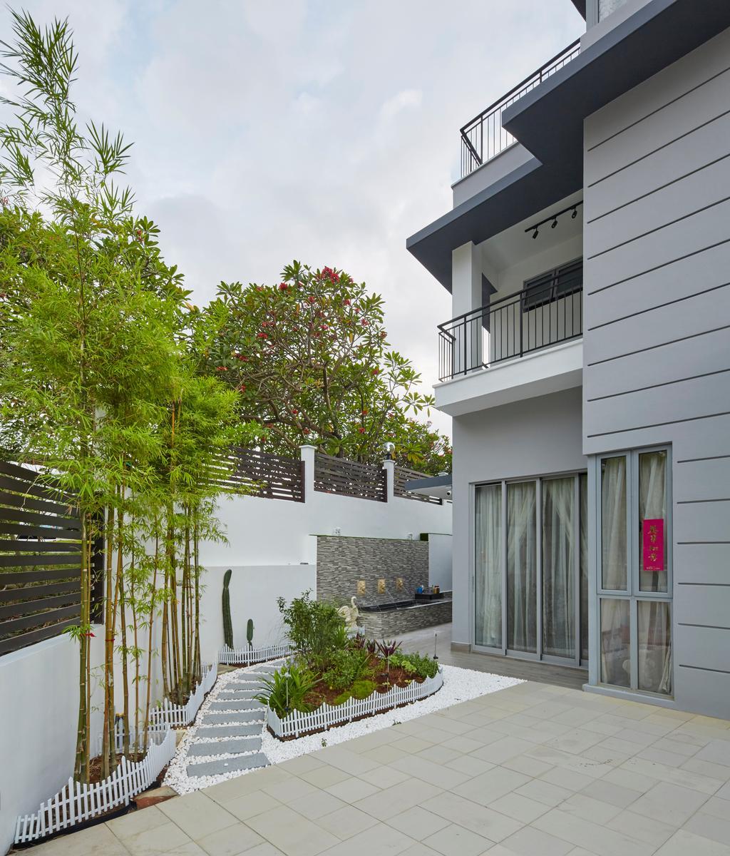 Contemporary, Landed, Garden, Jalan Limbok, Interior Designer, i-Chapter, Modern