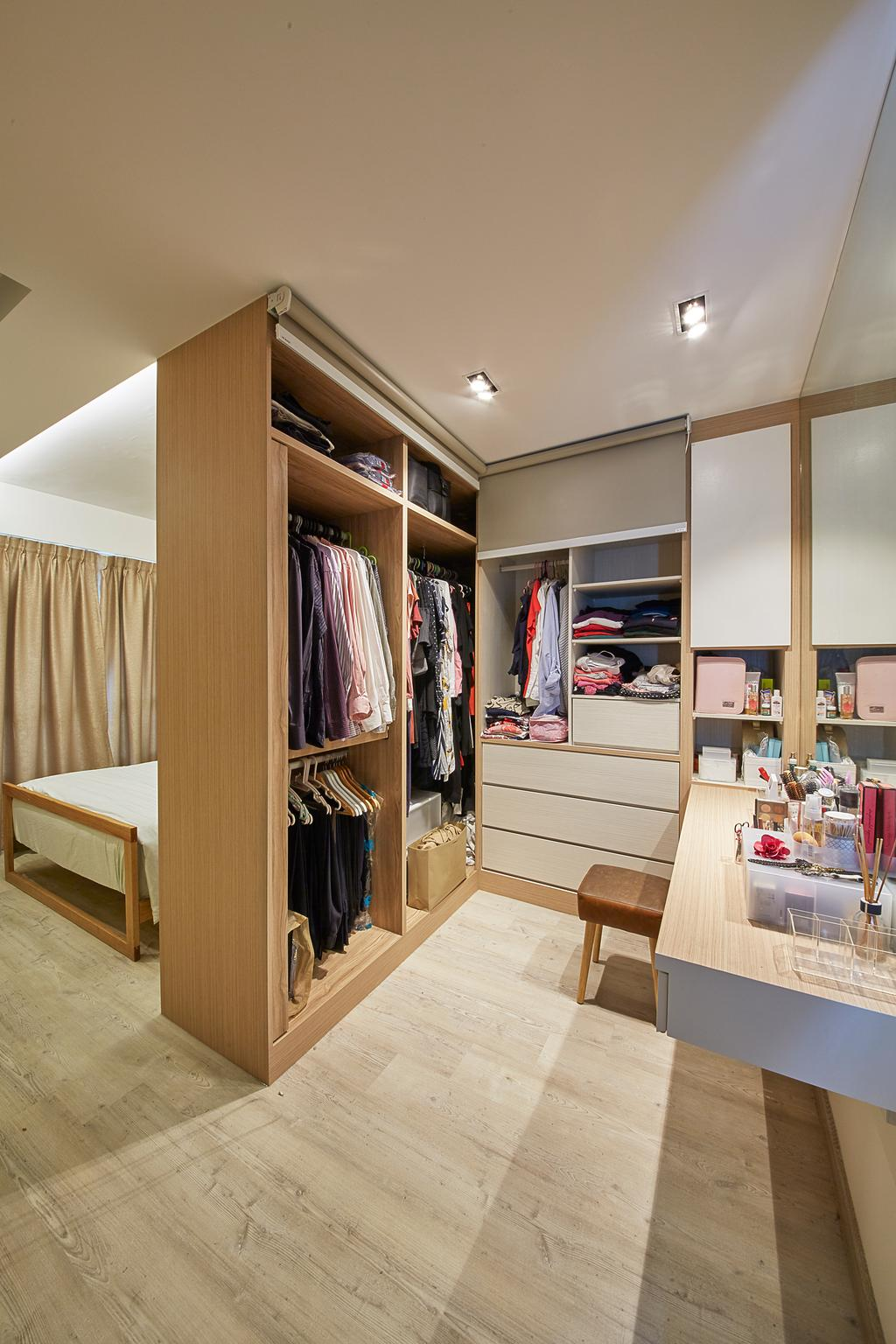 Scandinavian, HDB, Bedroom, Upper Boon Keng Road, Interior Designer, i-Chapter, Contemporary