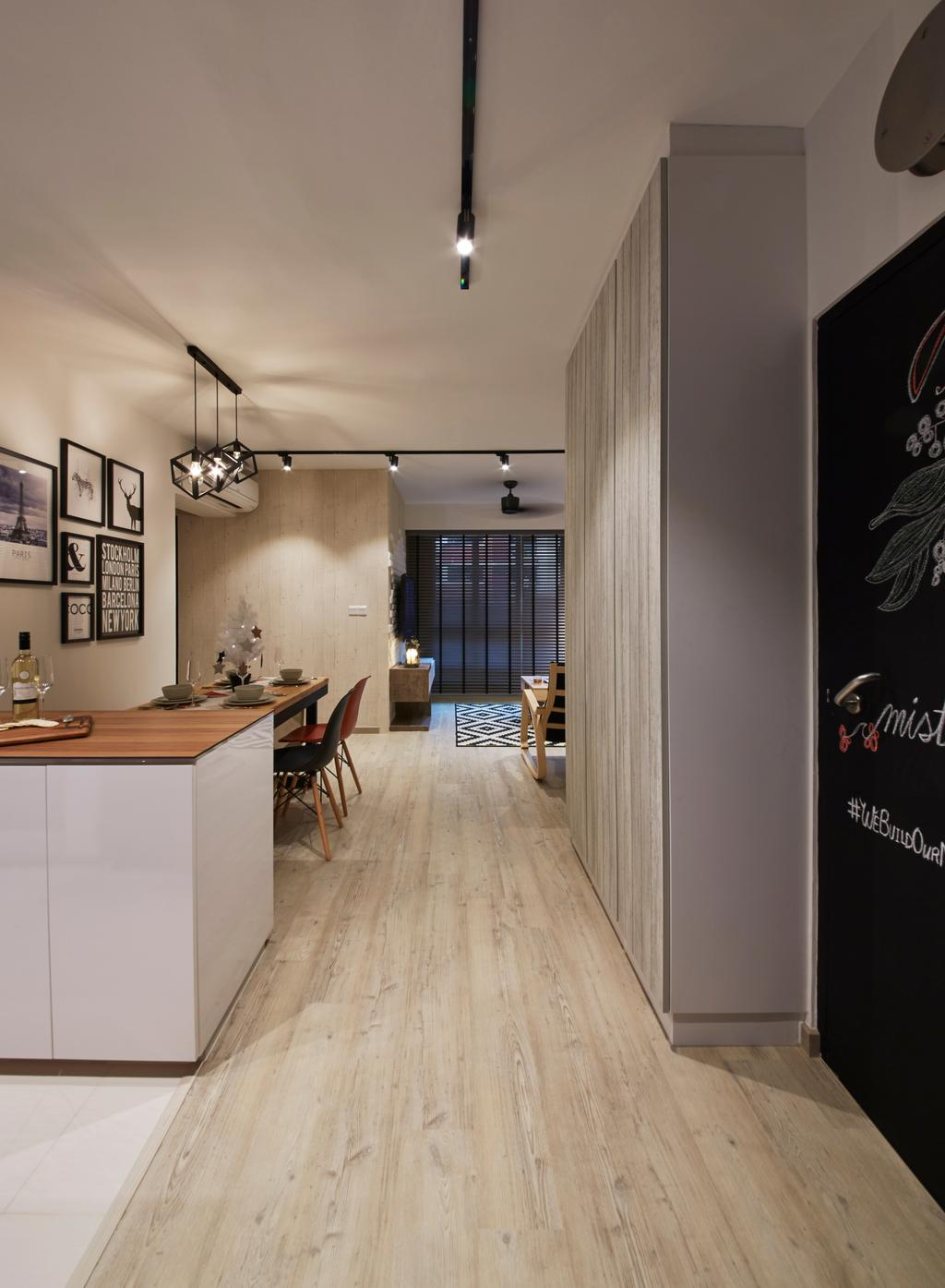 Scandinavian, HDB, Living Room, Bukit Batok West Avenue 6, Interior Designer, i-Chapter