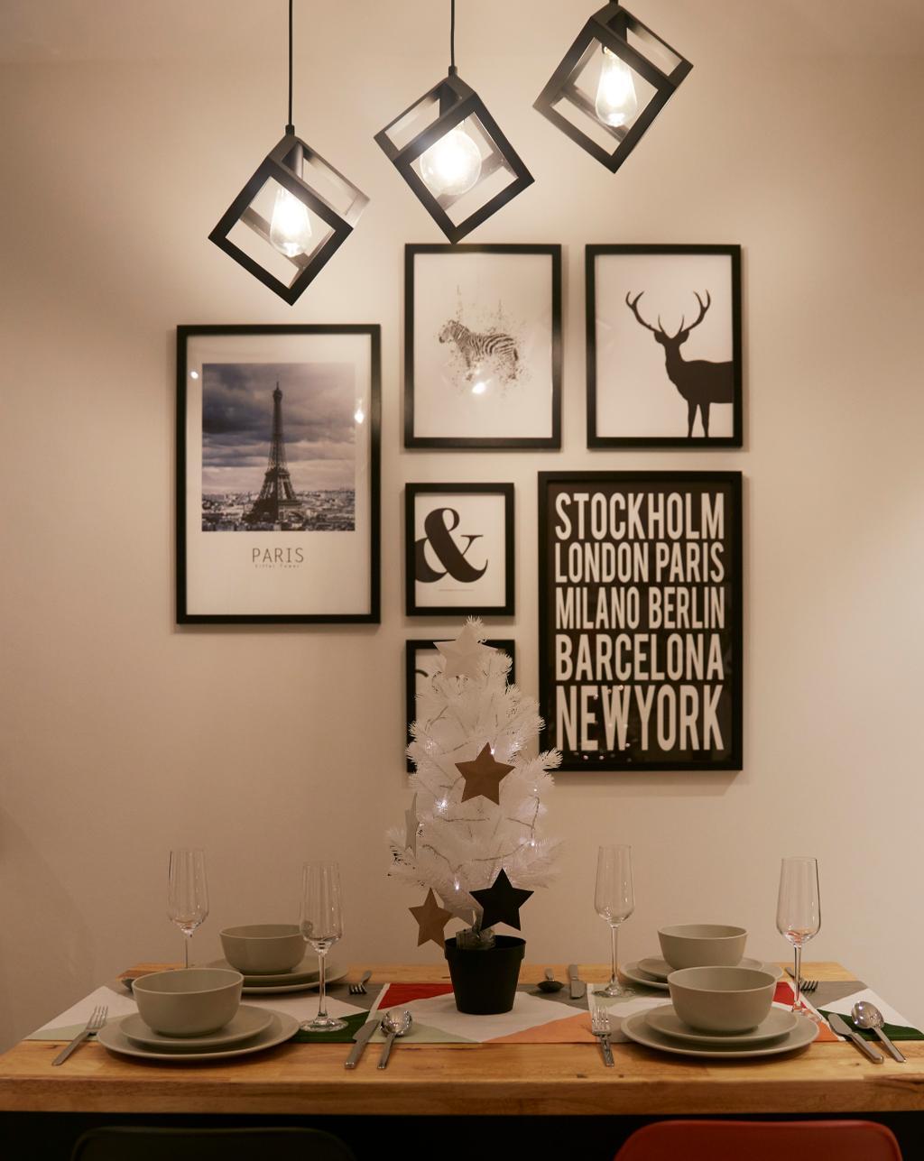 Scandinavian, HDB, Dining Room, Bukit Batok West Avenue 6, Interior Designer, i-Chapter