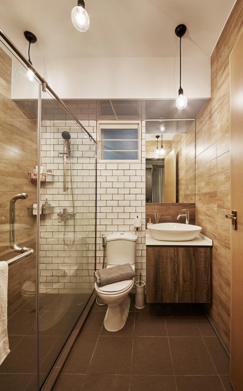 Scandinavian, HDB, Bathroom, Bukit Batok West Avenue 6, Interior Designer, i-Chapter