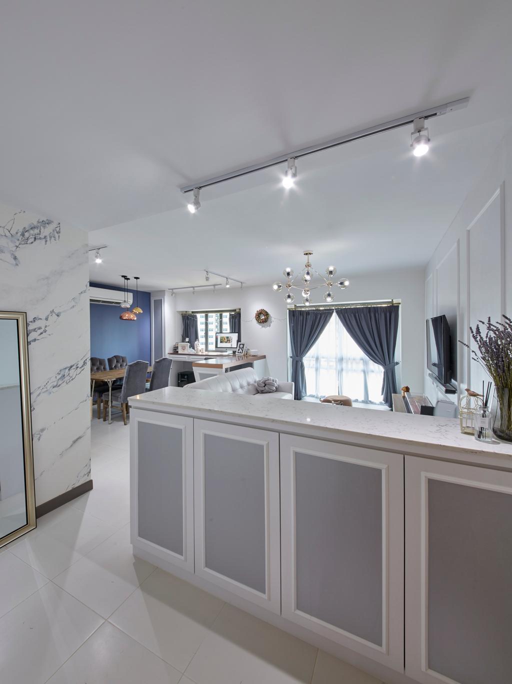Modern, HDB, Living Room, Dawson Road, Interior Designer, i-Chapter, Contemporary