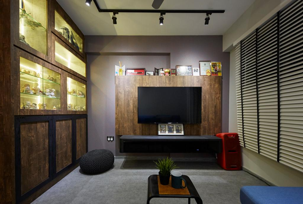 Eclectic, HDB, Anchorvale Crescent, Interior Designer, i-Chapter