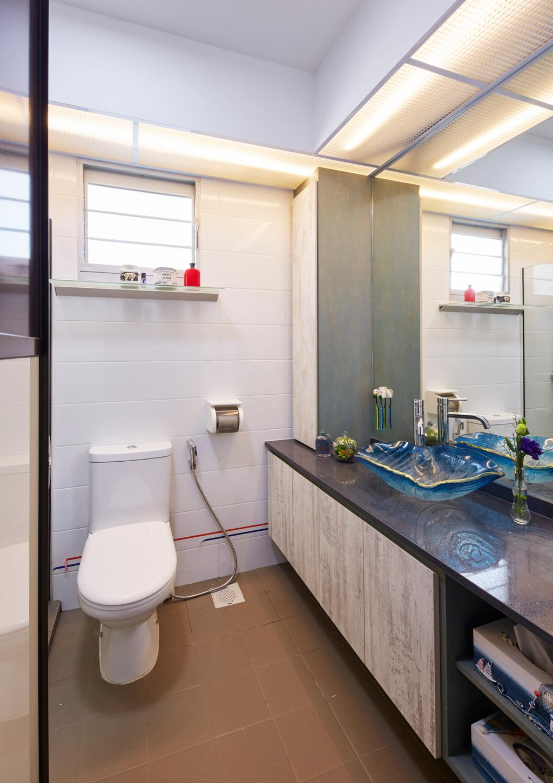 HDB, Bathroom, Boon Lay Ave, Interior Designer, i-Chapter