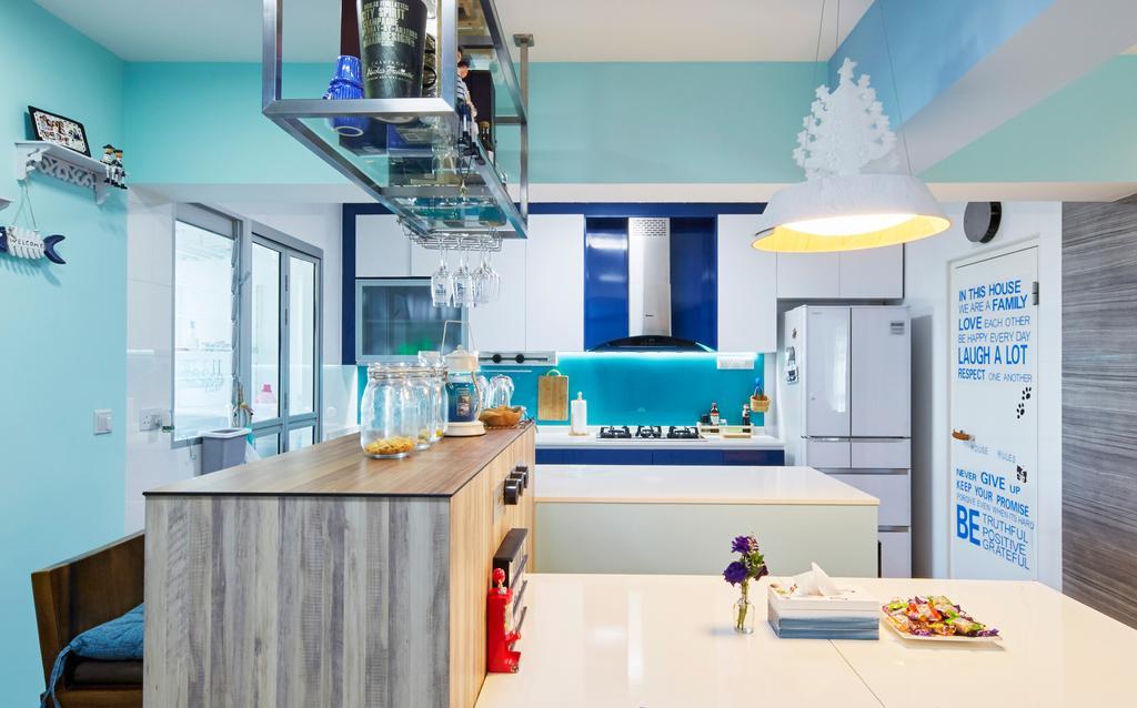 HDB, Dining Room, Boon Lay Ave, Interior Designer, i-Chapter
