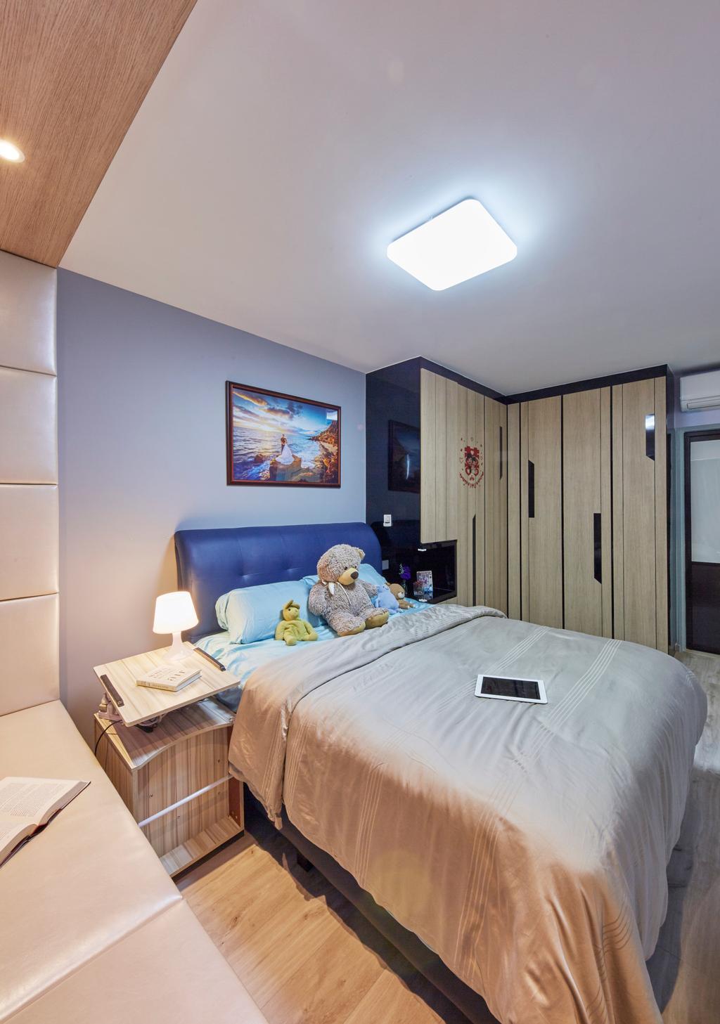 HDB, Bedroom, Boon Lay Ave, Interior Designer, i-Chapter