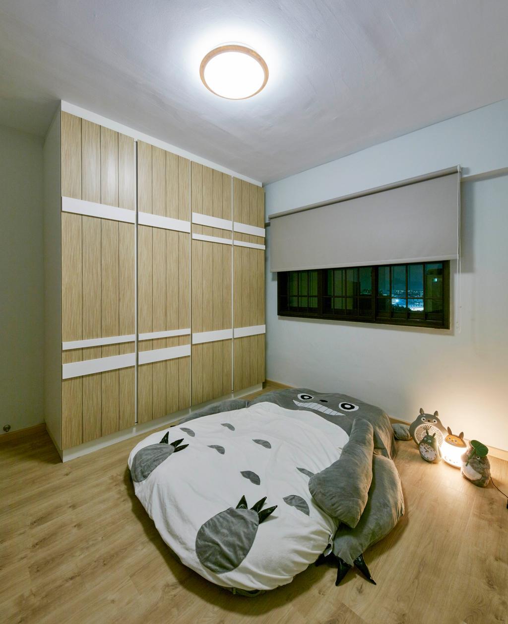 HDB, Bedroom, Bedok Reservoir View, Interior Designer, i-Chapter