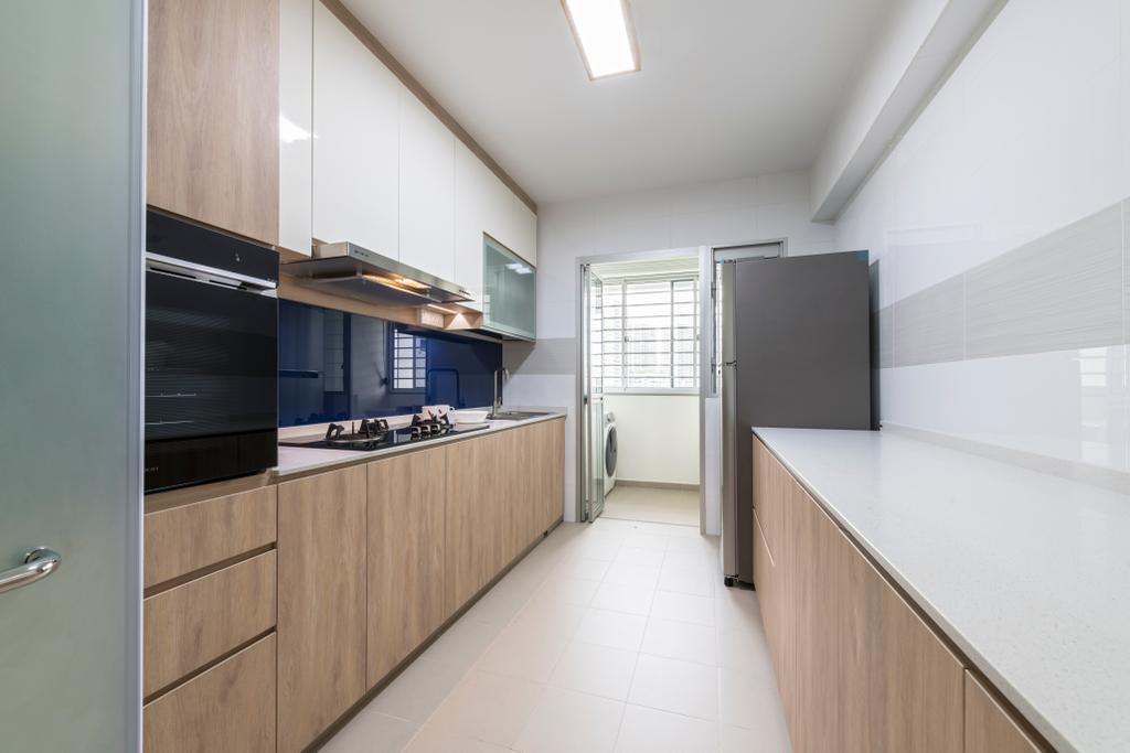 Contemporary, HDB, Kitchen, Choa Chu Kang Avenue 7, Interior Designer, Starry Homestead