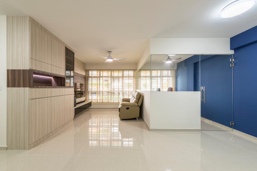 Contemporary, HDB, Living Room, Choa Chu Kang Avenue 7, Interior Designer, Starry Homestead