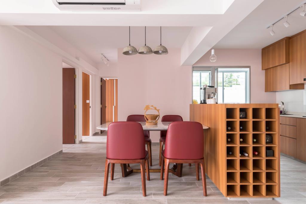 Contemporary, HDB, Dining Room, Canberra Crescent, Interior Designer, Style Living Interior