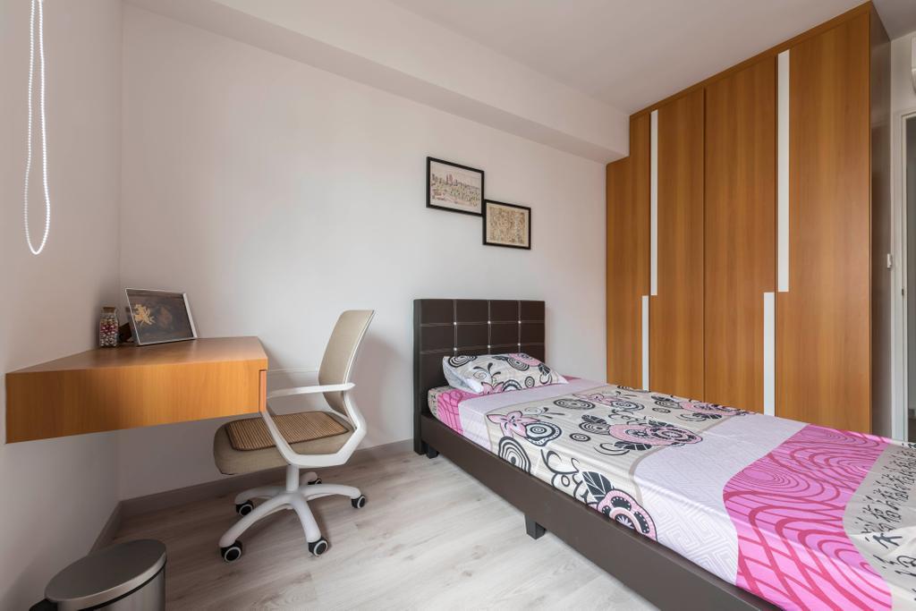 Contemporary, HDB, Bedroom, Canberra Crescent, Interior Designer, Style Living Interior