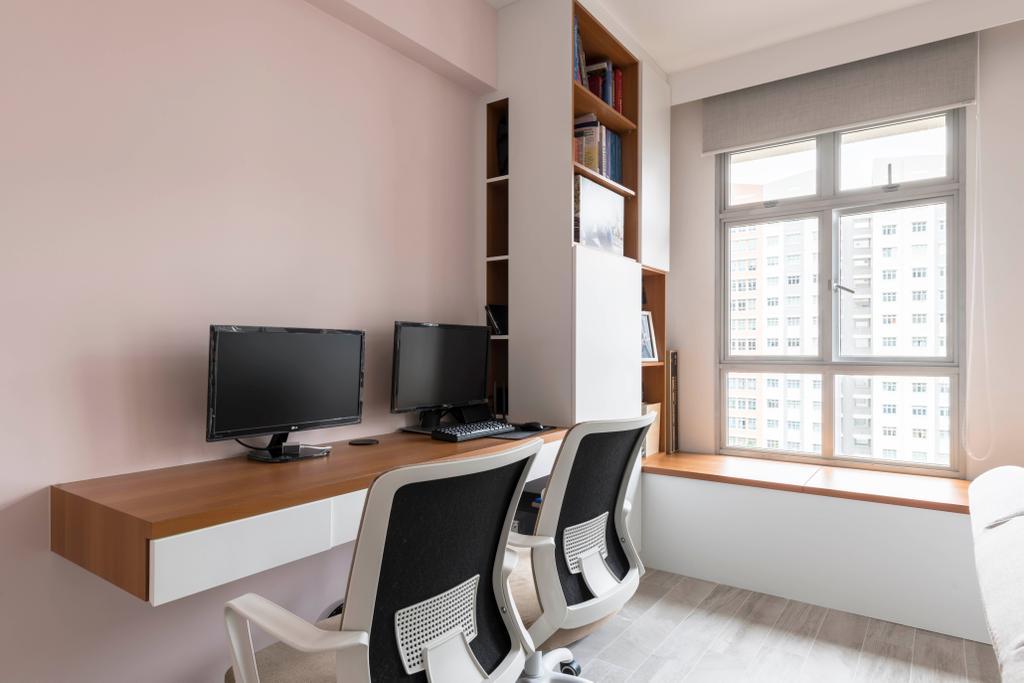 Contemporary, HDB, Study, Canberra Crescent, Interior Designer, Style Living Interior