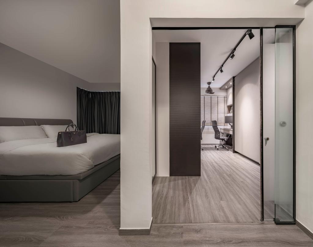 Contemporary, HDB, Bedroom, Bukit Batok Street 21, Interior Designer, Zenith Arc