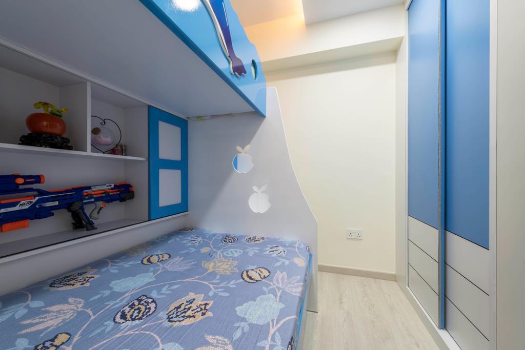 Contemporary, HDB, Bedroom, Tampines Central 7, Interior Designer, Omni Design