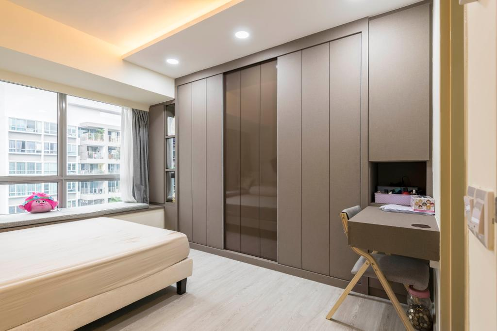 Contemporary, HDB, Bedroom, Tampines Central 7, Interior Designer, Omni Design