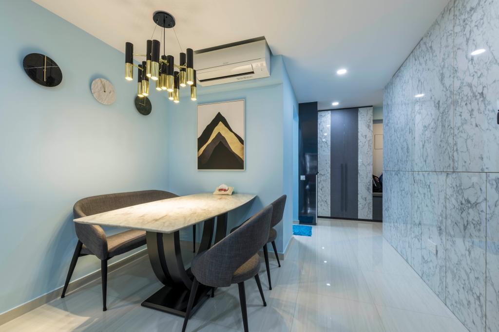 Contemporary, HDB, Tampines Central 7, Interior Designer, Omni Design