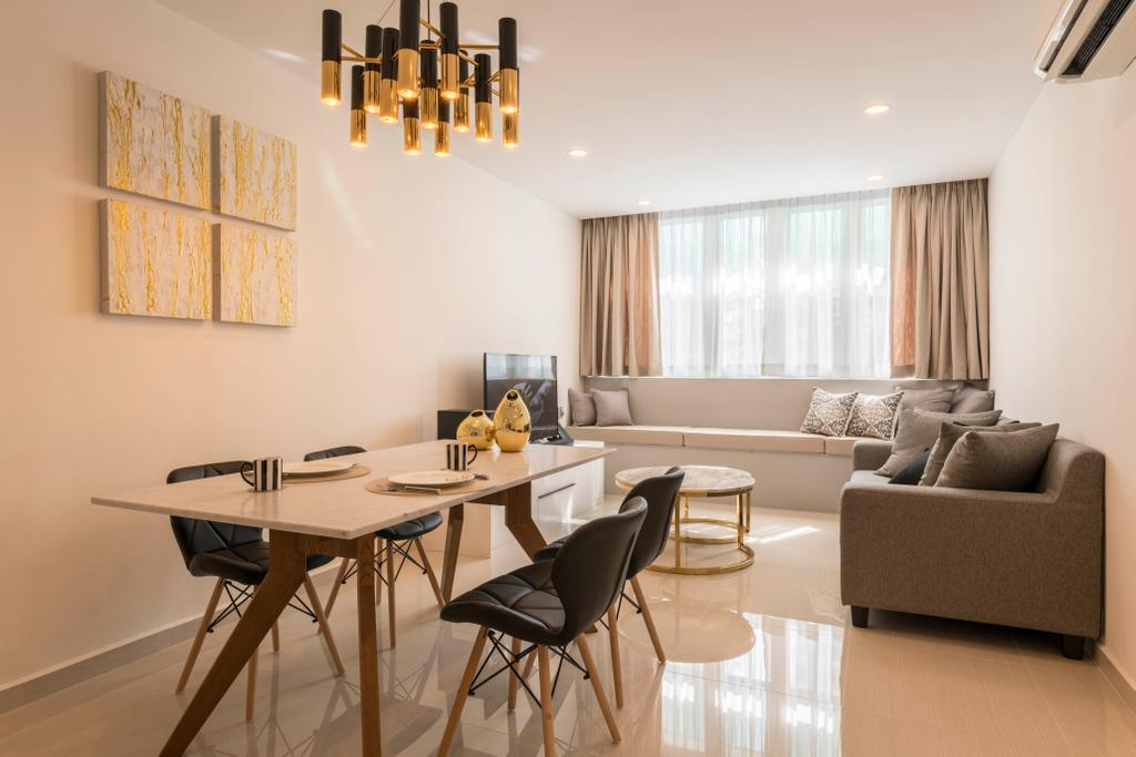 Contemporary, HDB, Living Room, Toa Payoh Lorong 4, Interior Designer, DS 2000 Interior & Design