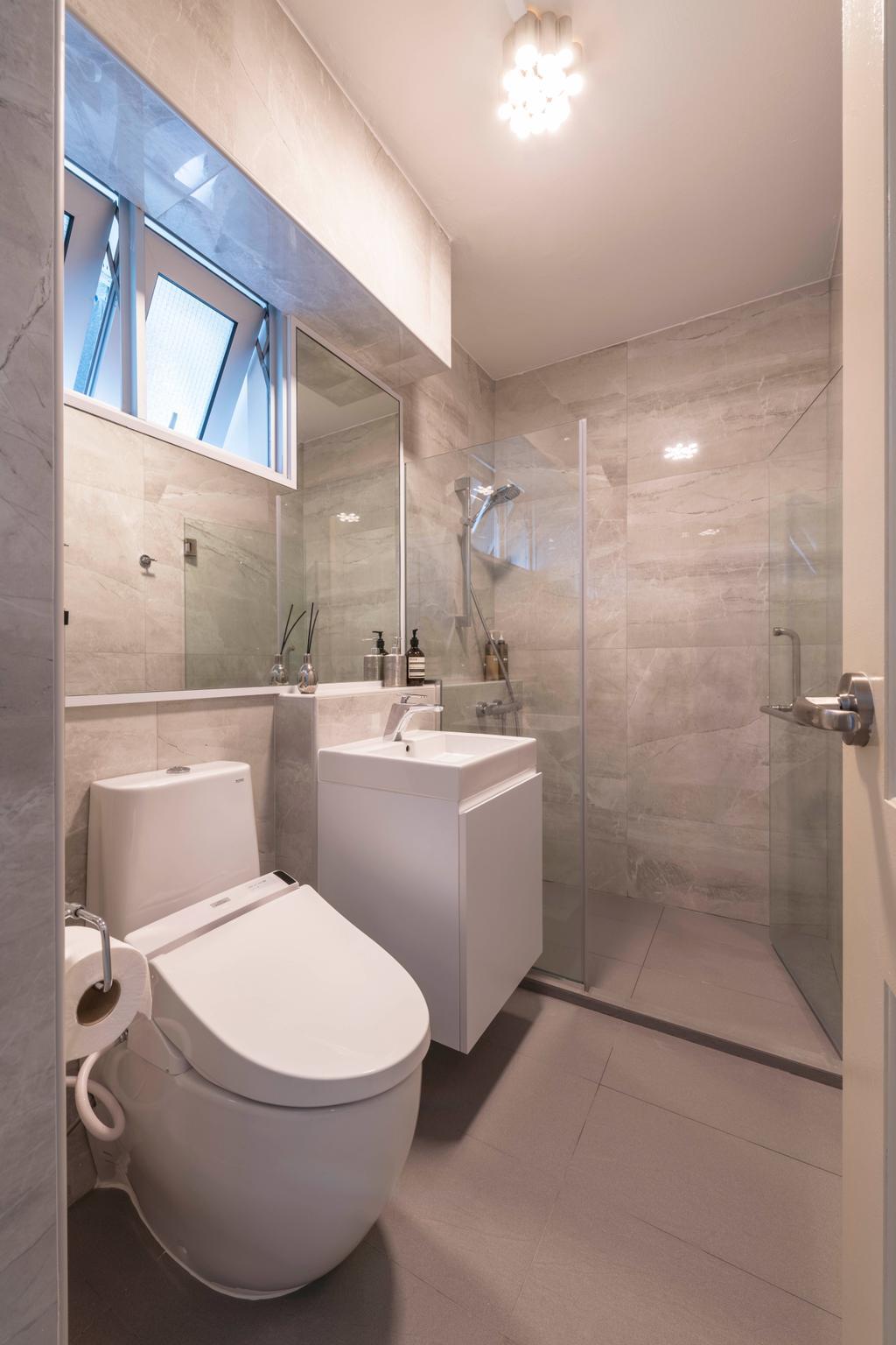 Contemporary, HDB, Bathroom, Toa Payoh Lorong 4, Interior Designer, DS 2000 Interior & Design