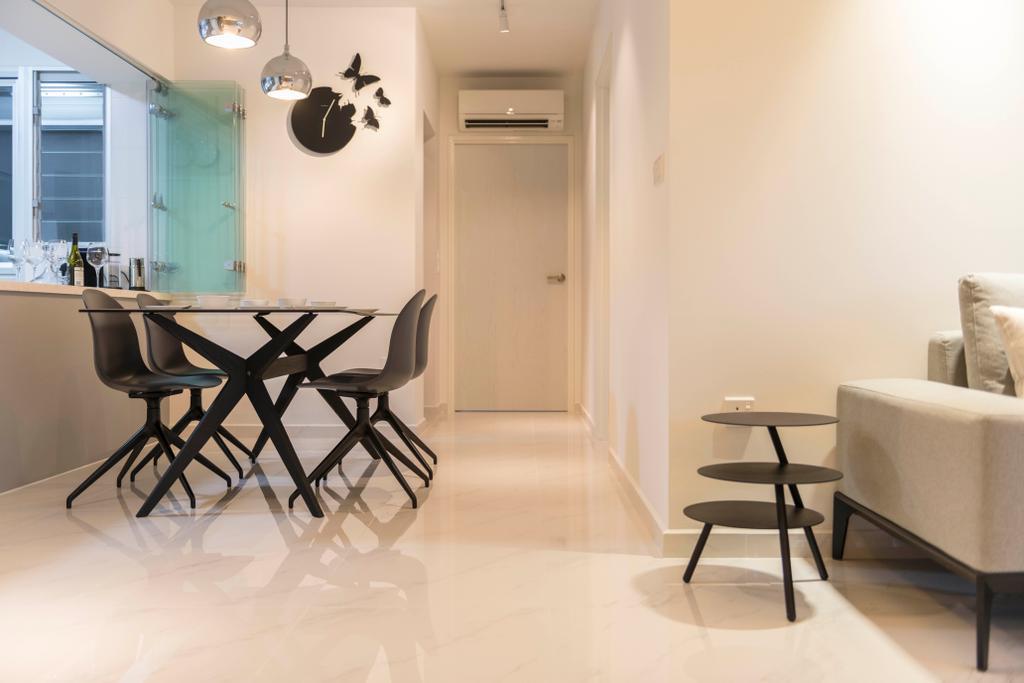 Contemporary, HDB, Dining Room, Bukit Batok West Avenue 8, Interior Designer, Fifth Avenue Interior