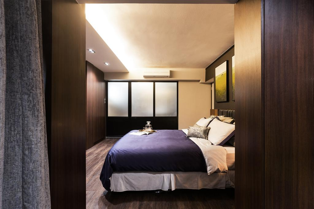 Contemporary, Condo, Bedroom, Pasir Ris Street 21, Interior Designer, Hall Interiors
