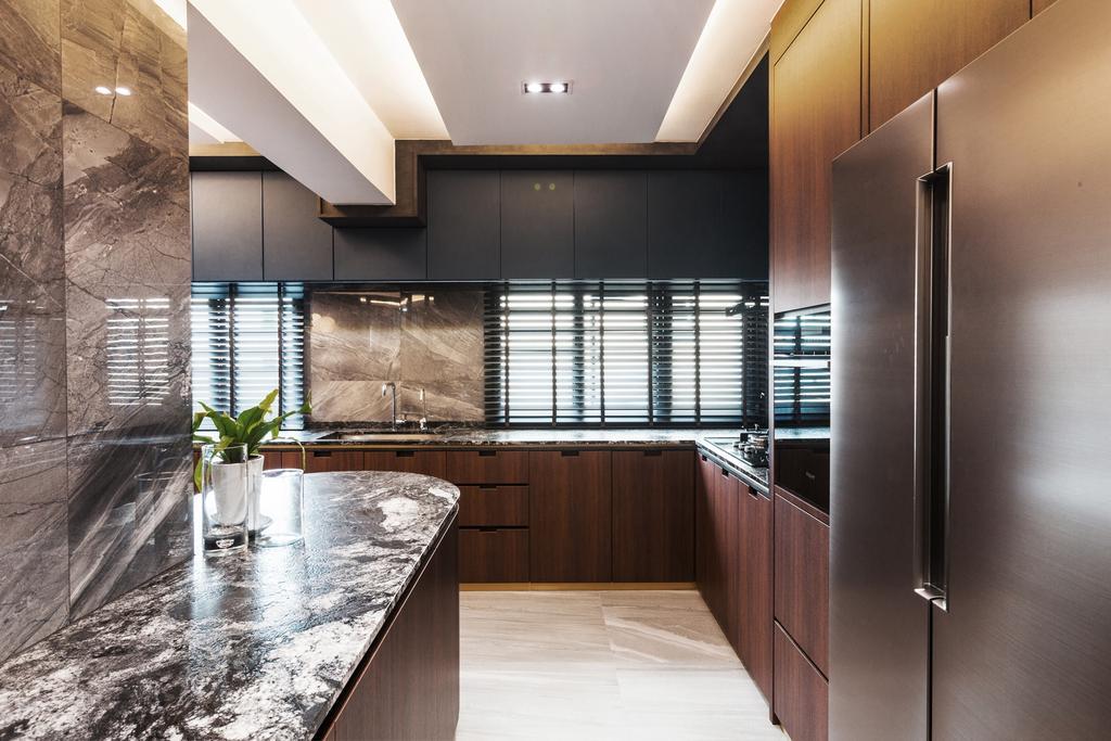 Contemporary, Condo, Kitchen, Pasir Ris Street 21, Interior Designer, Hall Interiors