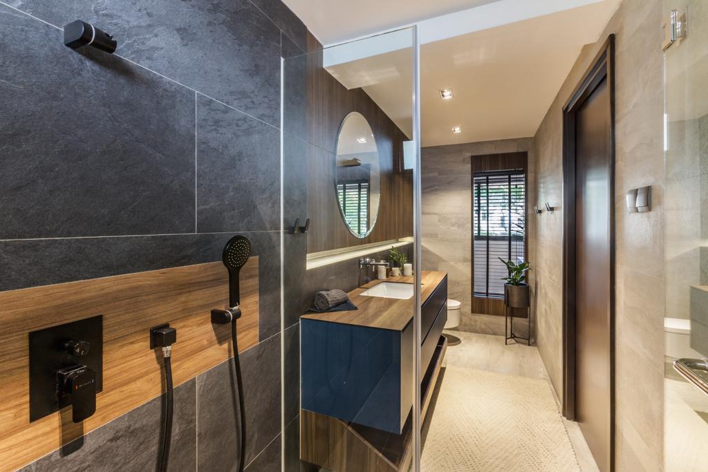 Contemporary, Condo, Bathroom, The Arcadia, Interior Designer, Hall Interiors