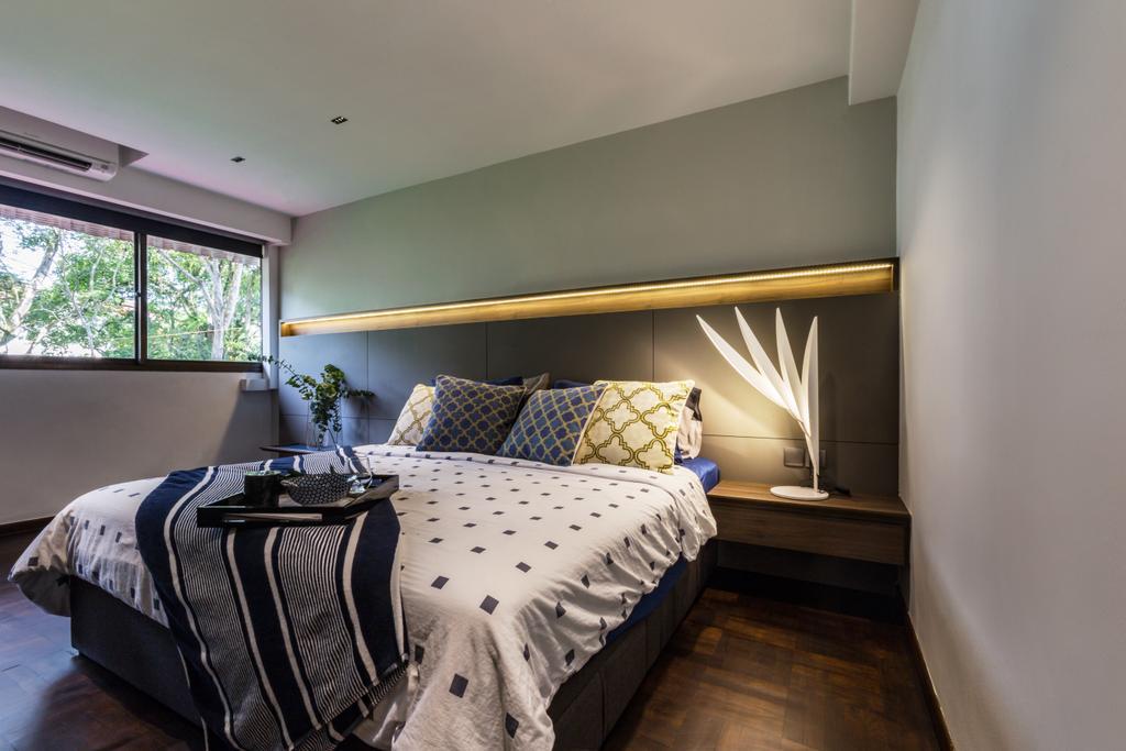 Contemporary, Condo, Bedroom, The Arcadia, Interior Designer, Hall Interiors