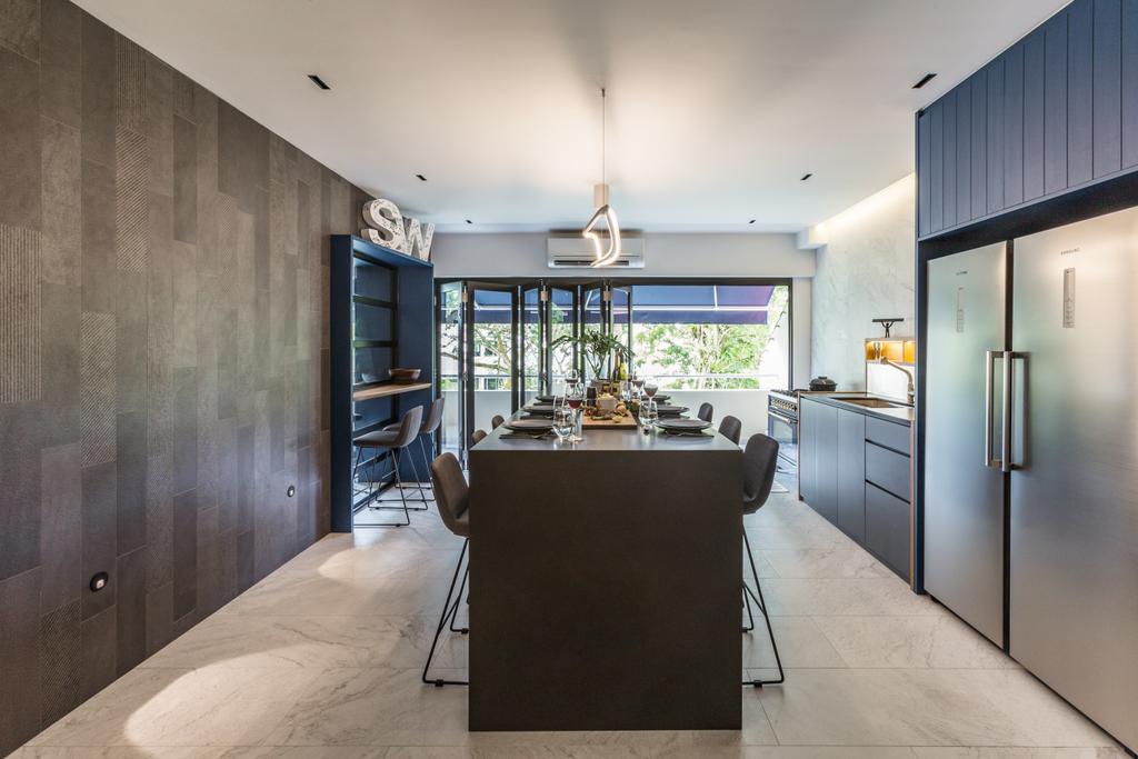 Contemporary, Condo, Kitchen, The Arcadia, Interior Designer, Hall Interiors