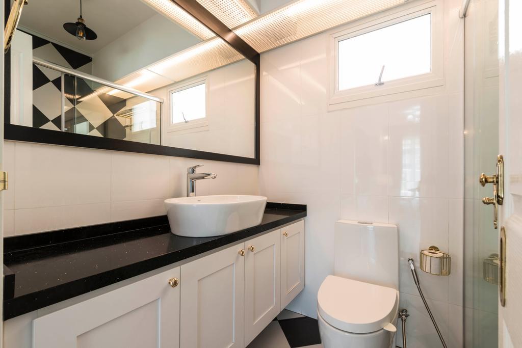 Contemporary, HDB, Bathroom, Edgedale Plains, Interior Designer, Control Space Design Studio