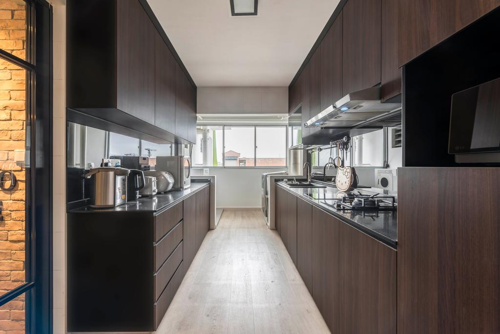 Contemporary, HDB, Kitchen, Tampines Central 7, Interior Designer, Control Space Design Studio