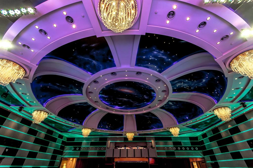 GALAXY Banquet Hall, Commercial, Interior Designer, Lequen Construction And Renovation Group