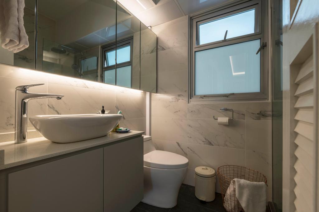 Contemporary, HDB, Bathroom, Canberra Street, Interior Designer, Control Space Design Studio