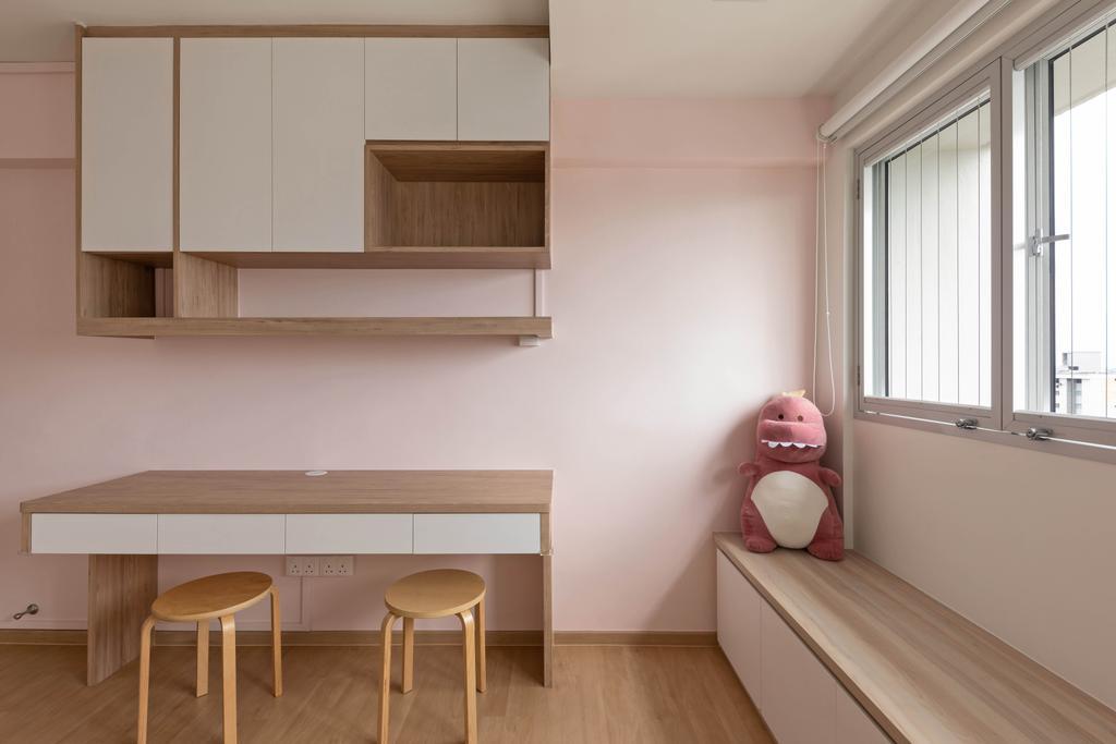Contemporary, HDB, Study, Serangoon Avenue 4, Interior Designer, Space Concepts Design