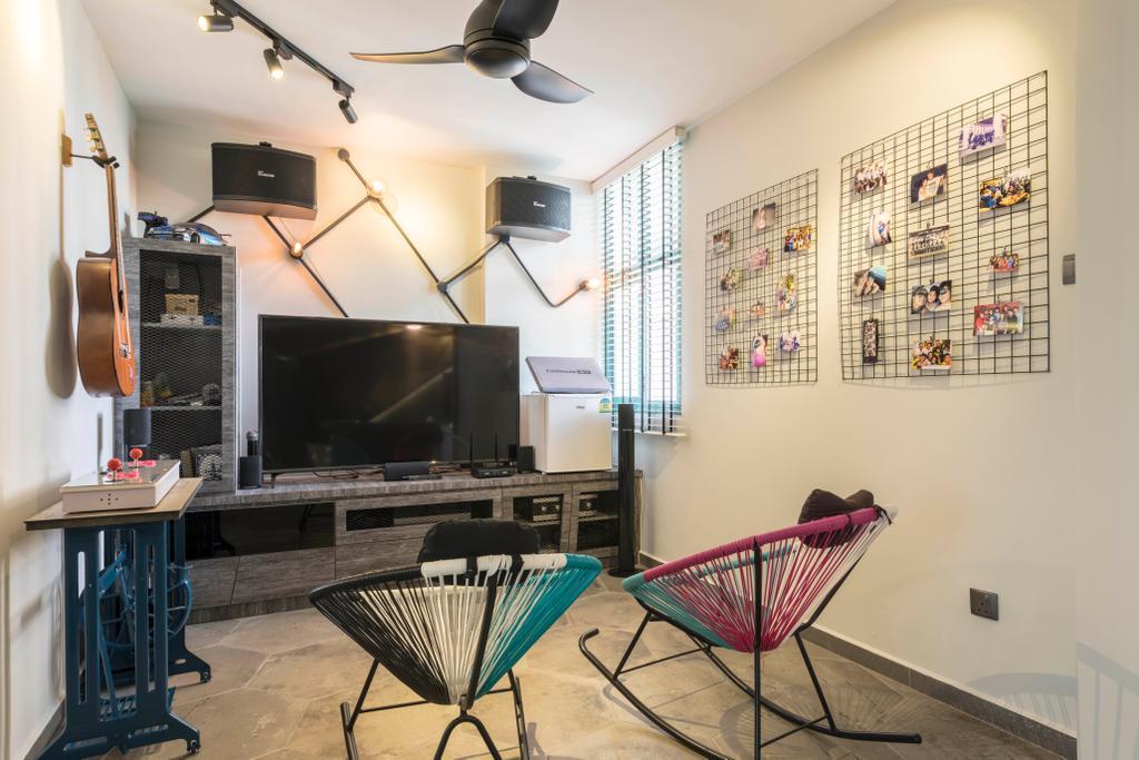Eclectic, HDB, Woodlands Drive 75, Interior Designer, Chapter One Interior Design
