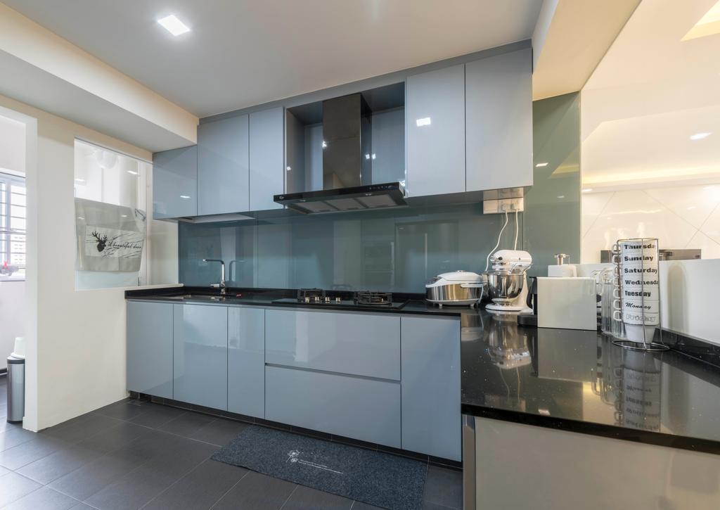 Contemporary, HDB, Kitchen, Pasir Ris Street 71, Interior Designer, Zenith Arc