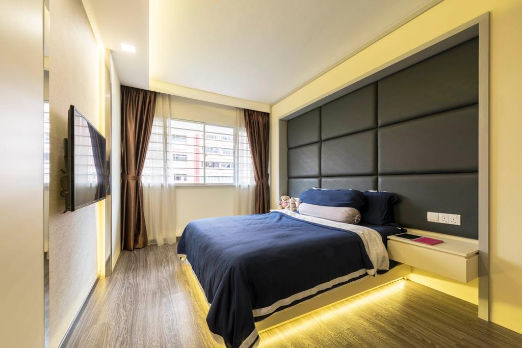 Contemporary, HDB, Bedroom, Pasir Ris Street 71, Interior Designer, Zenith Arc