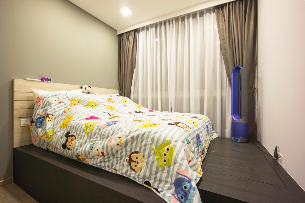Contemporary, Condo, Bedroom, Sol Acres, Interior Designer, Flo Design